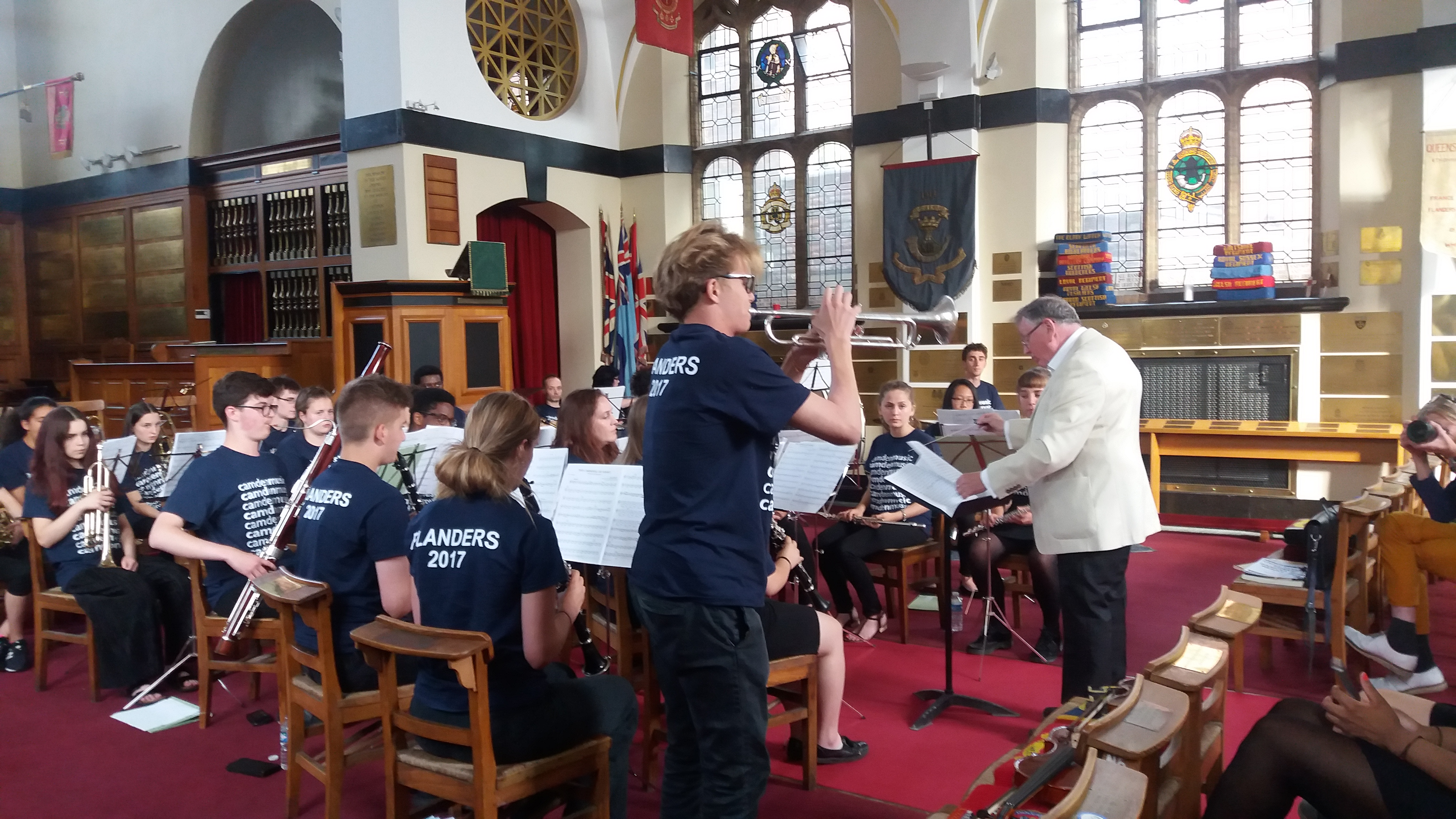 Camden Youth Orchestra and Concert Band- 27th July 2017